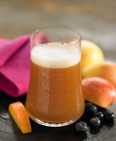 suco-maçã-linhaça-desinflamar