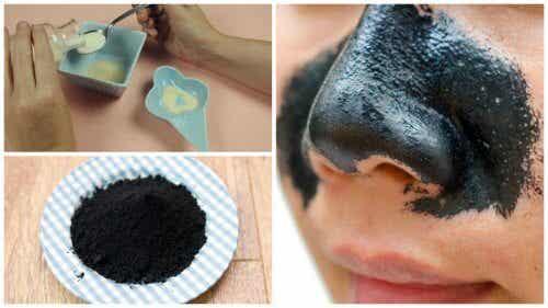 Faça uma tira adesiva para remover cravos do nariz