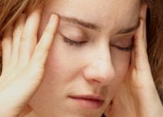 Mulher sofrendo estresse