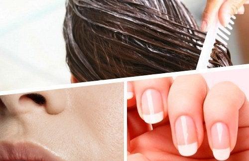 Os 5 ingredientes naturais para cuidar da pele, cabelo e unhas