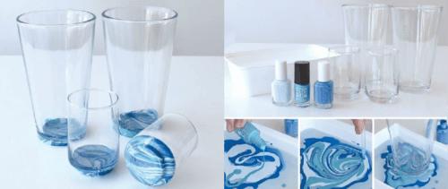 17 formas alternativas interessantes de usar seus esmaltes de unhas