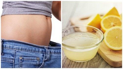 Combater o sobrepeso com limão