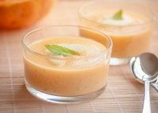 Perca peso em seu jantar graças a estes deliciosos cremes frios de melão