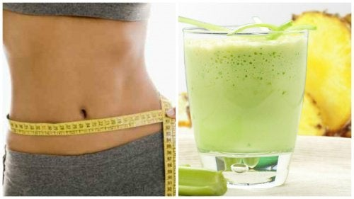 Suco para eliminar gordura