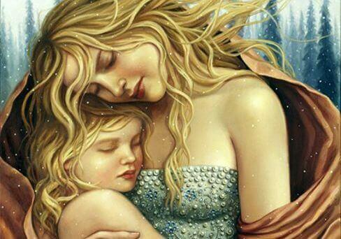 O abraço de nossos filhos são presentes para o coração