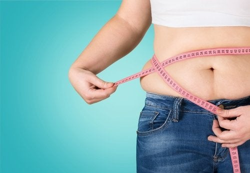 Gordura acumula na barriga