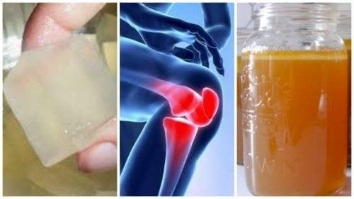 3 remédios com gelatina para aliviar as dores nas articulações