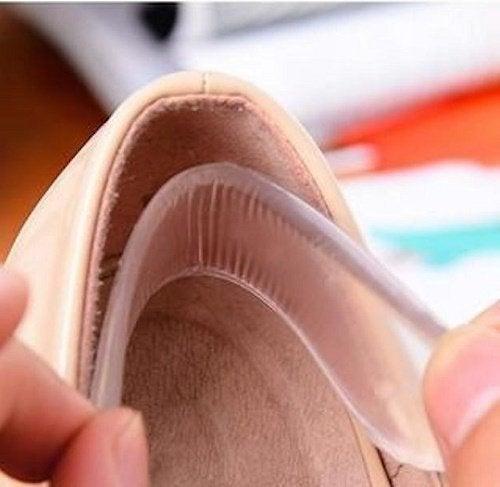 Protetores de silicone para os sapatos