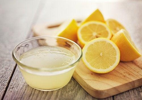 Tratamentos cosméticos à base de limão