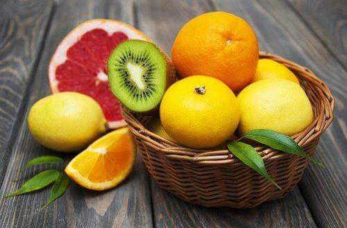 Frutas cítricas para prevenir a gripe