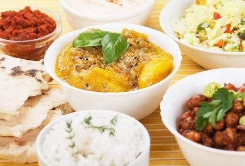 perder peso culinária indiana