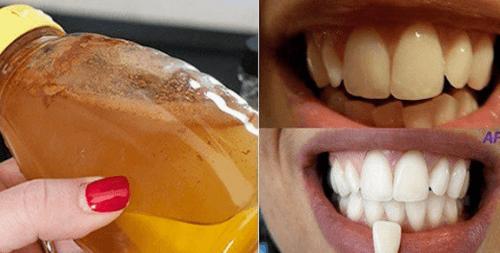 Branquear dentes com ingredientes naturais