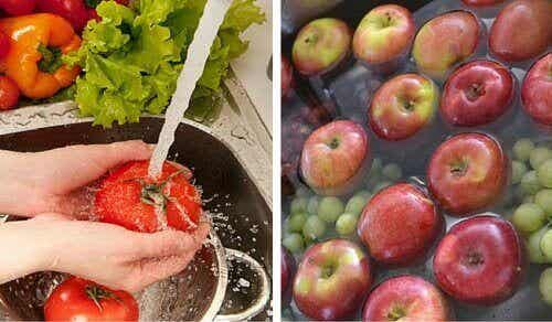 Como remover os pesticidas das frutas e verduras