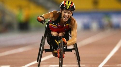 Marieke Vervoort competindo