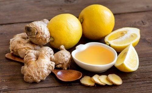 Limonada com gengibre para perder peso