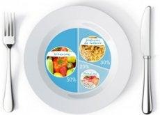 Assim deveriam ser as proporções dos seus pratos para perder peso