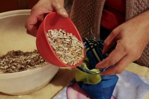 sementes saquinhos
