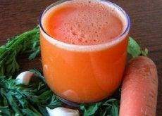 Remédio com cenoura e alho para combater o esgotamento