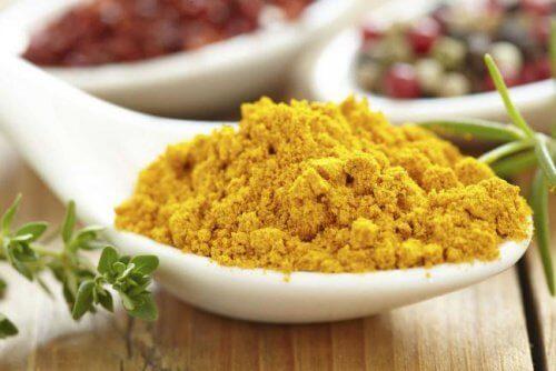 A cúrcuma é bastante utilizada na culinária indiana
