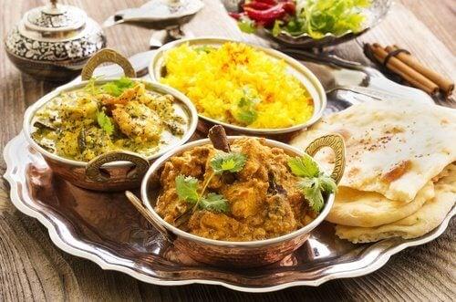 Informaçõessobre a culinária indiana