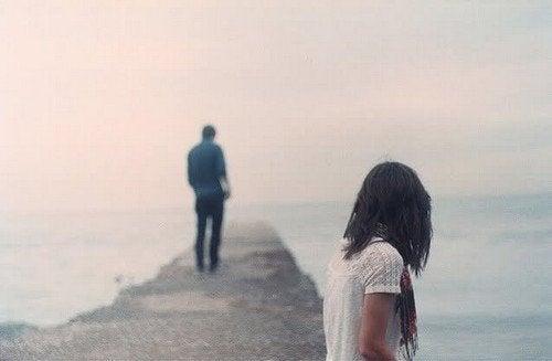 A dificuldade de esquecer um ex