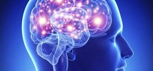 Cérebro de pessoa depressiva