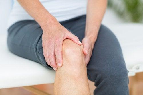 Joelho com artrite