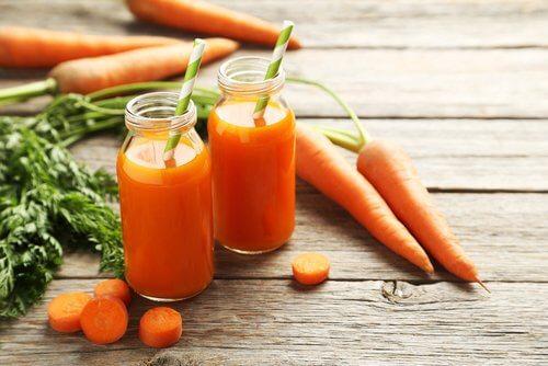 Suco de cenoura para o hipotireoidismo