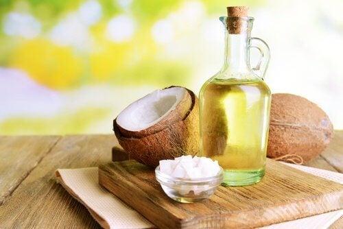 usar o óleo de coco