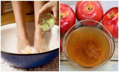 Truque para eliminar germes e células mortas dos pés