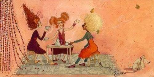 amigas-tomando-cafe