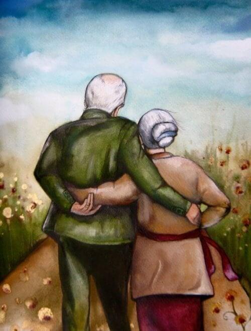 Casal de velhos