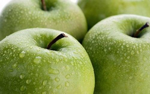 Benefícios da maçã verde
