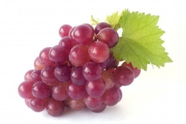 Uvas para atenuar as estrias
