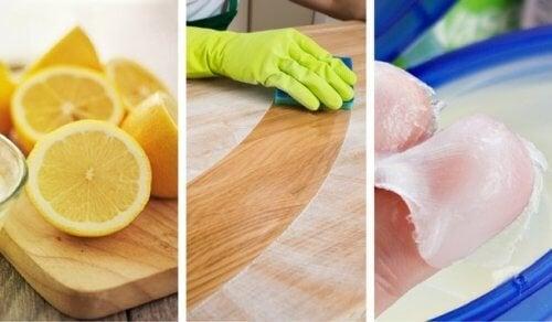 8 soluções caseiras para limpar a madeira