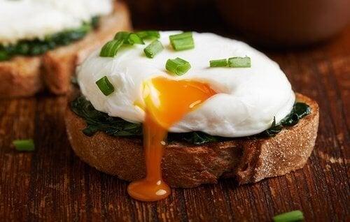 Ovo com pão