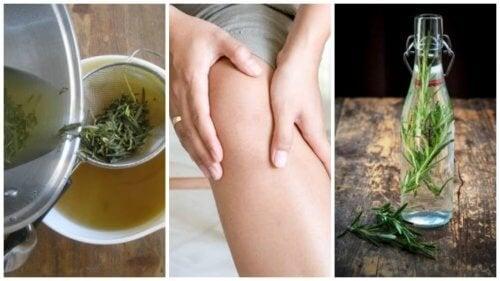 Combata a dor articular combinando dois anti-inflamatórios naturais