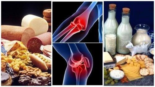 8 alimentos que você deve evitar se tem problemas nas articulações