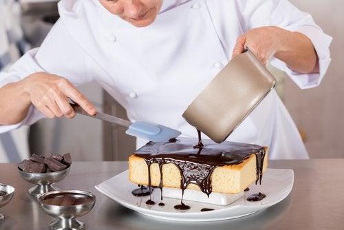 Bolo de chocolate contra a dieta