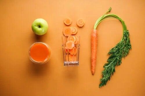 Suco natural para reduzir o colesterol e a pressão alta