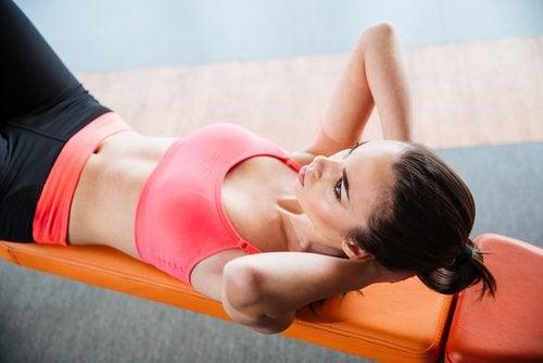 Exercícios para uma barriga chapada