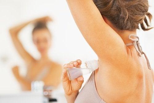 O desodorante pode desenvolver câncer de mama