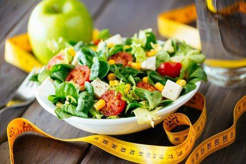 Salada para fazer dieta
