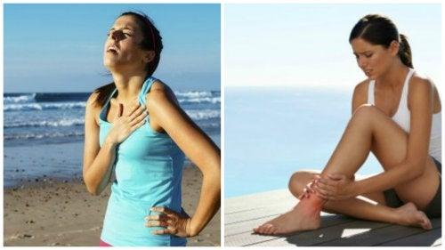 6 situações nas quais não se deve praticar exercícios