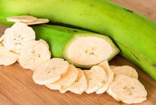 7 benefícios da banana verde para a saúde