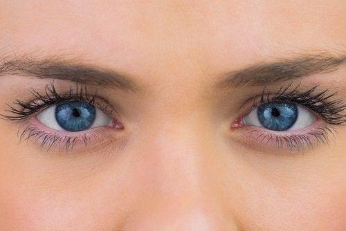 Olhos sem cataratas