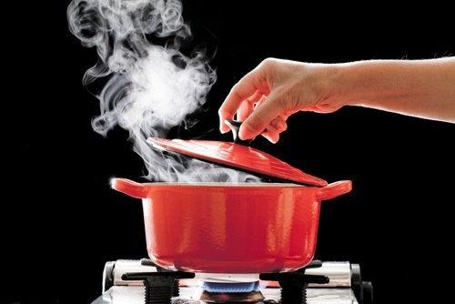 queimaduras com água quente