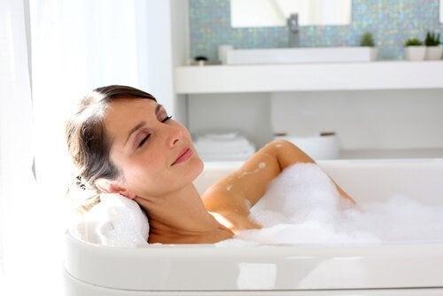 banho relaxante