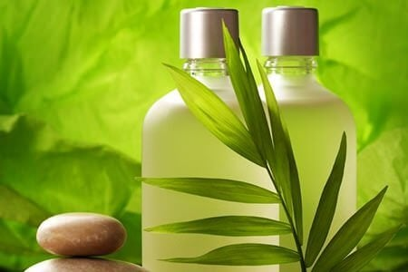 Xampu natural parao cabelo