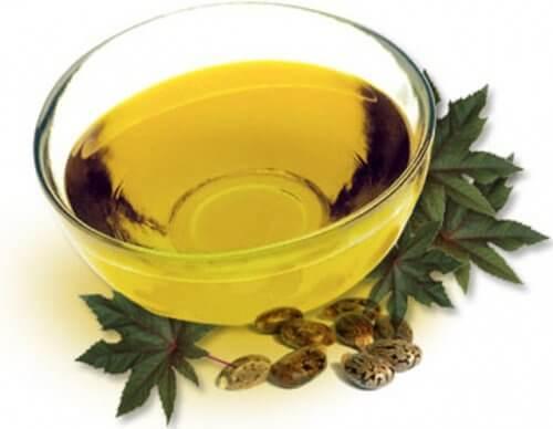 Tratamento com óleo de rícino para aliviar a contratura no trapézio